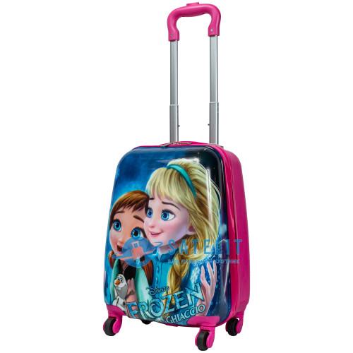 Детский чемодан 4 колеса «Frozen sister»