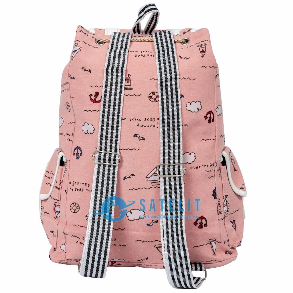 Рюкзак Color Style Casual Sea светло-розовый