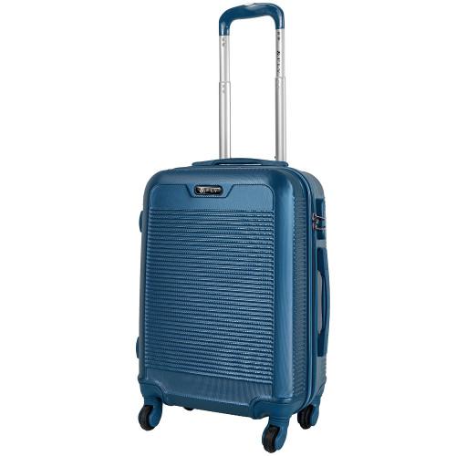 Чемодан Fly 1093 S+ темно-голубой