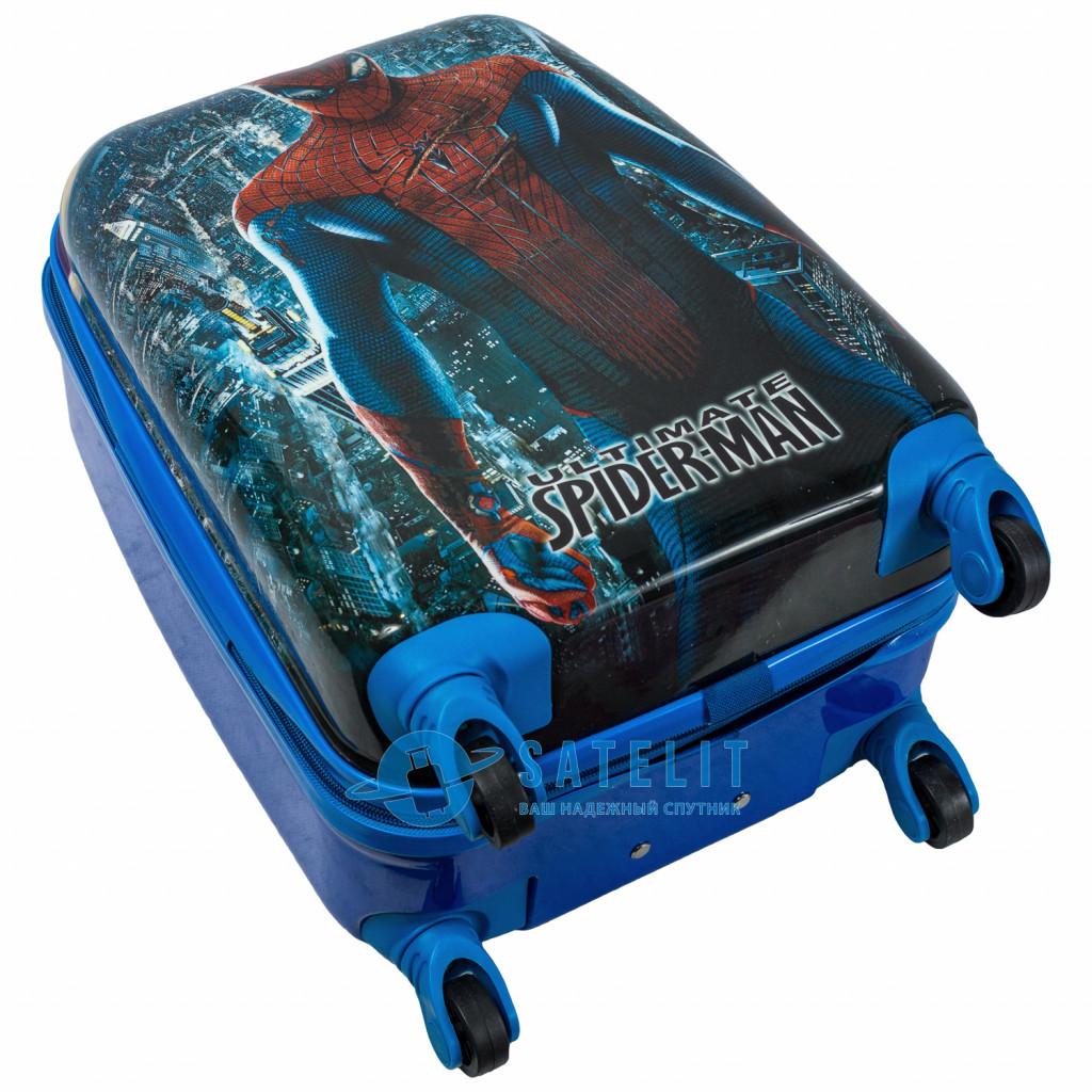 Детский чемодан 4 колеса «Человек паук 2»